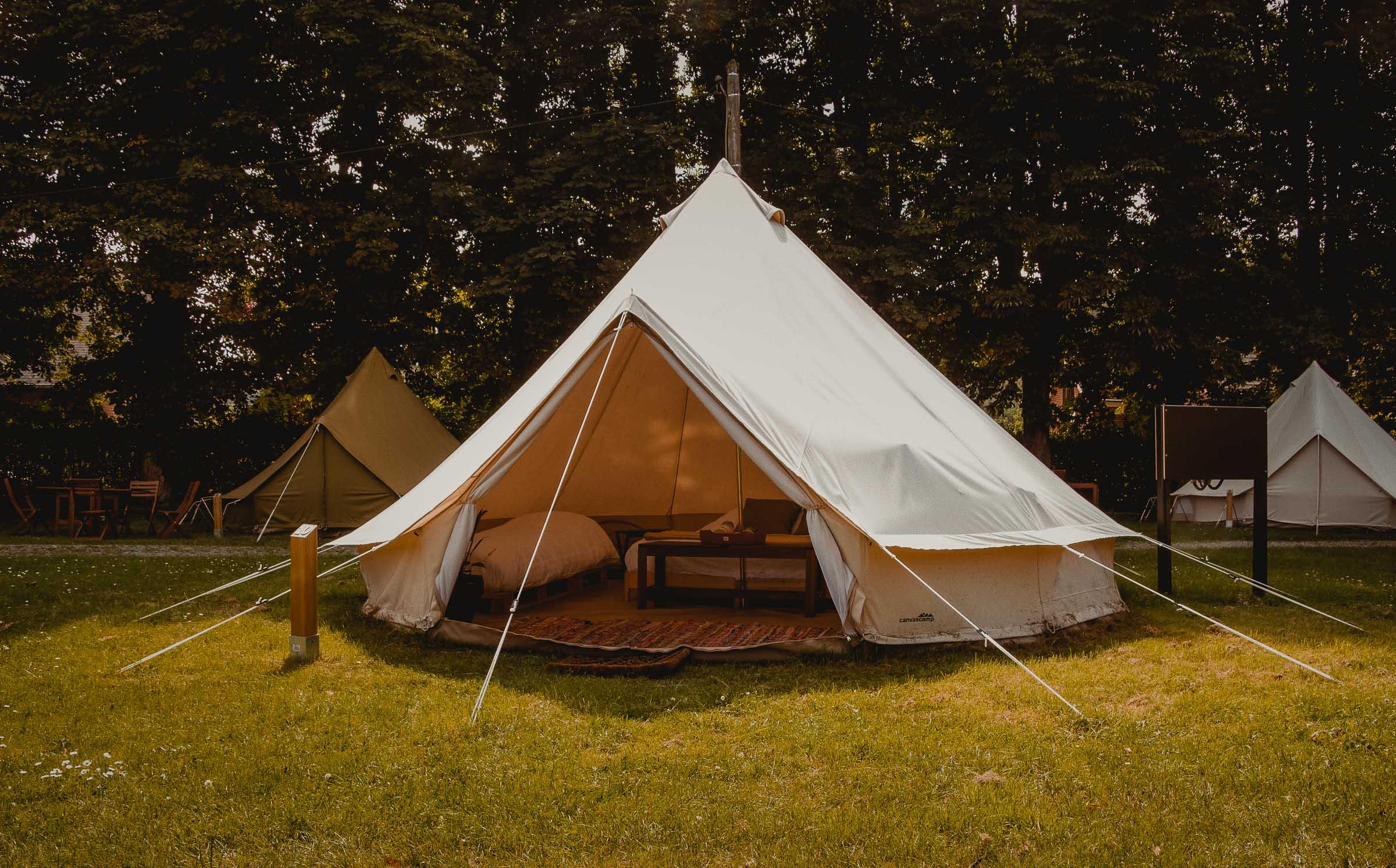 glamping tenten camping ardennen