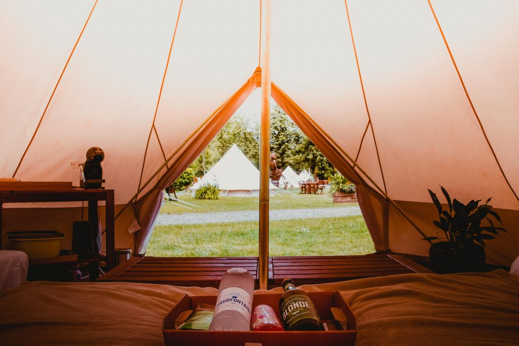 Glamping in Han: Cocoon Village