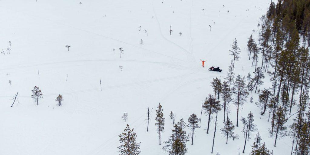 husky tochten zweden lapland