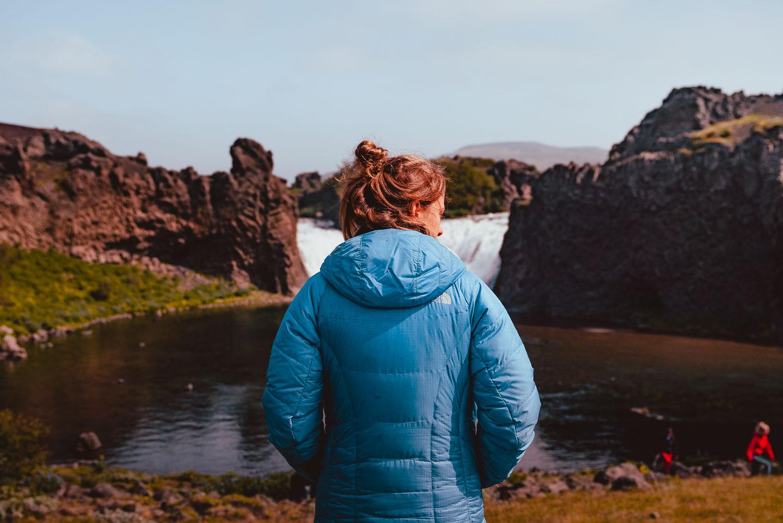 waterval bezoeken ijsland