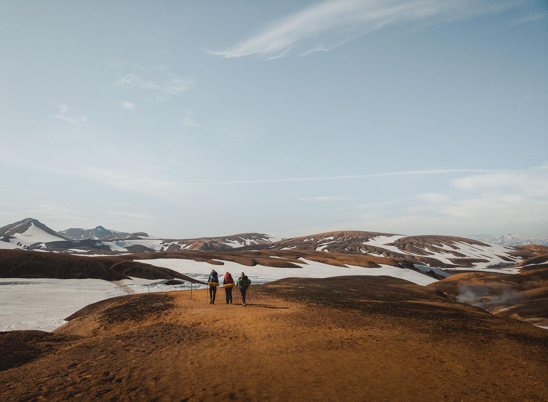 hike wandelen ijsland