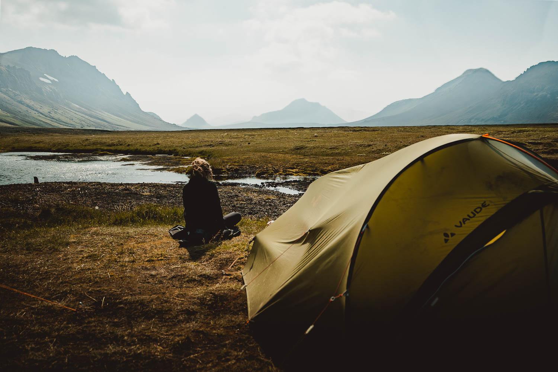in ijsland kamperen