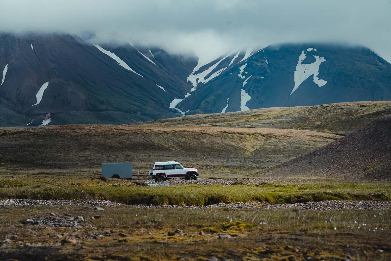 hiken in ijsland