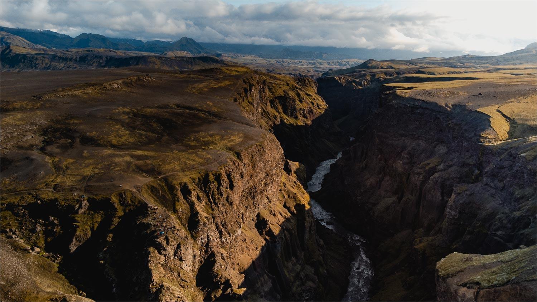 kloof canyon ijsland