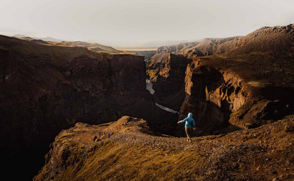 canyon kloof ijsland