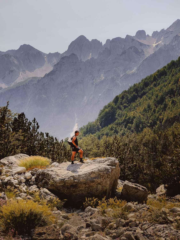 wandelen albanie: valbona theth