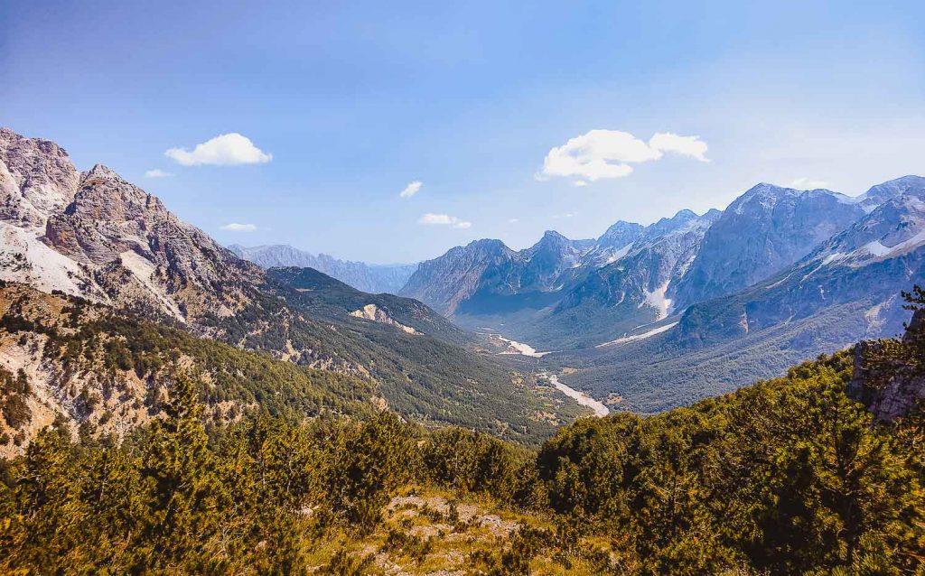 panorama hike wandelen valbona