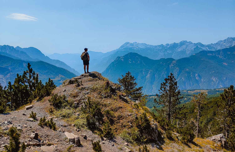 hike naar albanie plannen