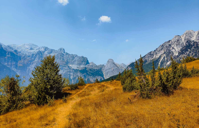noorden van albanie hikes