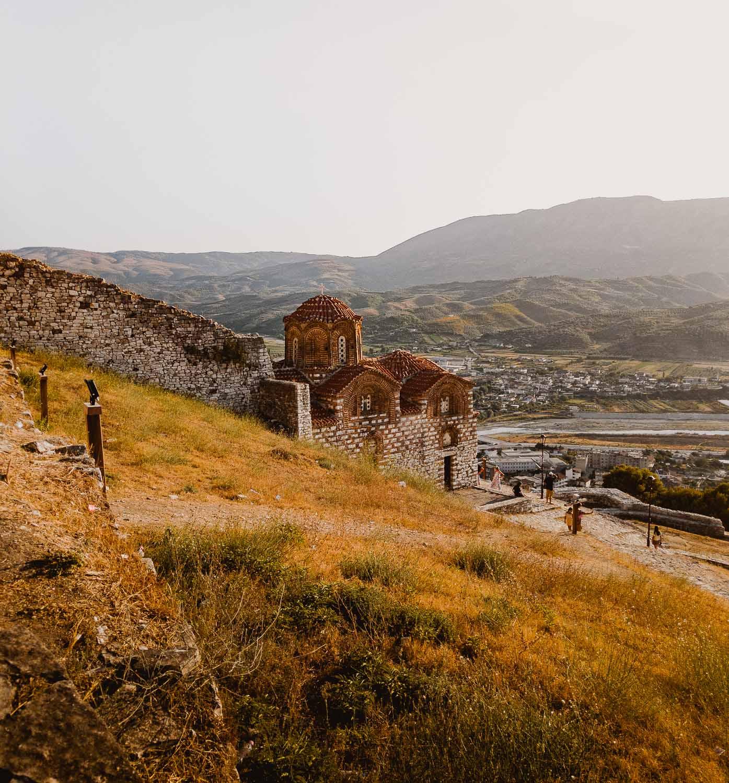 kasteel berat in albanie