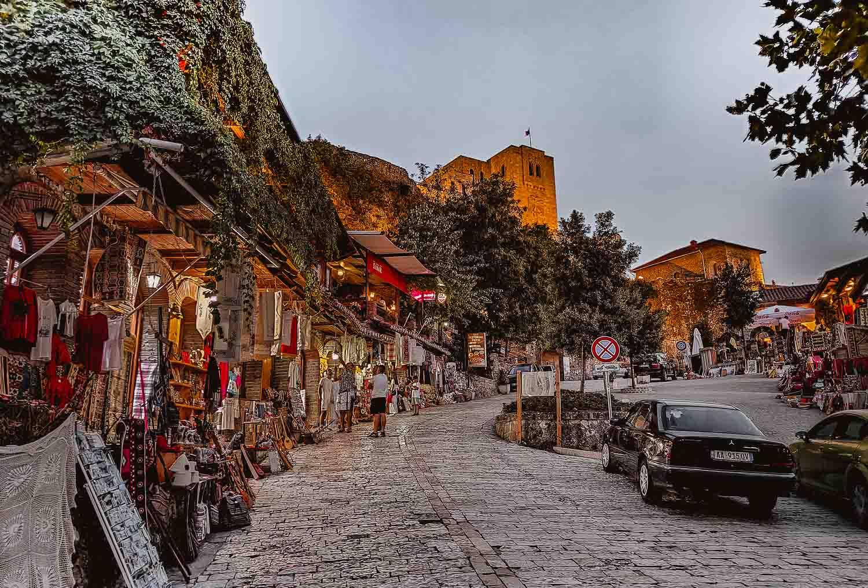 kruje albanie bezoeken